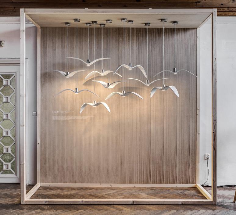 Night birds  suspension pendant light  brokis pc964 cgc772 ccs775 ccsc843 cecl149 ceb825  design signed 50489 product