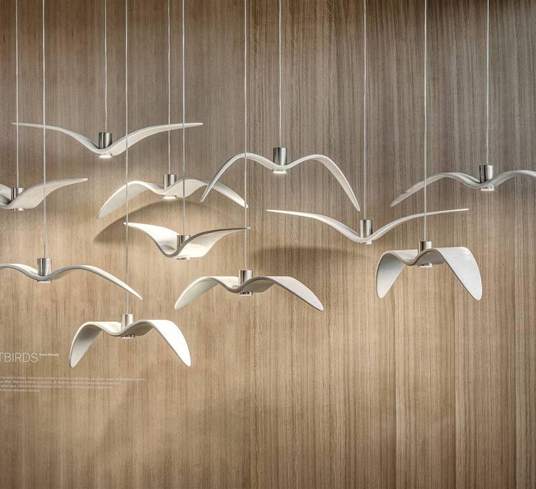 Night birds  suspension pendant light  brokis pc964 cgc772 ccs775 ccsc843 cecl149 ceb825  design signed 50490 product