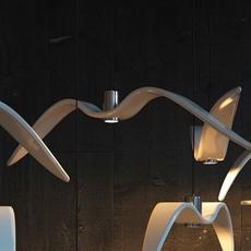Night birds  suspension pendant light  brokis pc963 cgc772 ccs775 ccsc843 cecl149 ceb825  design signed 39017 thumb