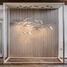 Night birds  suspension pendant light  brokis pc962 cgc772 ccs775 ccsc843 cecl149 ceb825  design signed 50494 thumb