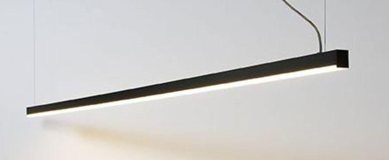 Suspension ninza s noir led 2700k o120cm h3 5cm dark normal