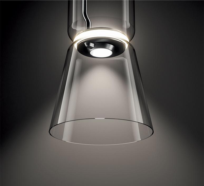 Noctambule 2 cylindres bas cone  konstantin grcic suspension pendant light  flos f0270000  design signed nedgis 110439 product