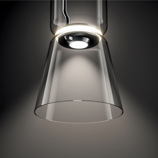 Noctambule 2 cylindres bas cone  konstantin grcic suspension pendant light  flos f0270000  design signed nedgis 110439 thumb
