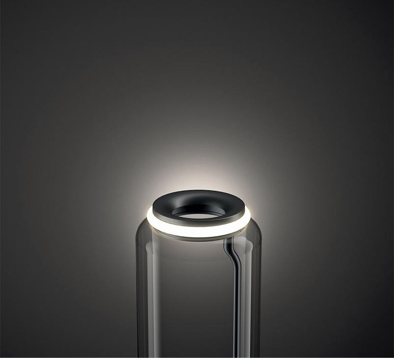 Noctambule 2 cylindres bas cone  konstantin grcic suspension pendant light  flos f0270000  design signed nedgis 110440 product