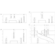 Noctambule 5 cylindres bas  konstantin grcic suspension pendant light  flos f0278000  design signed nedgis 110644 thumb