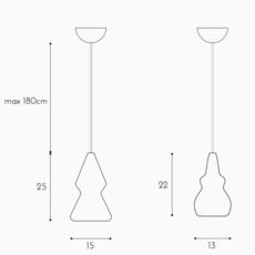 Nojar enrico zanolla suspension pendant light  zanolla ltnoj25  design signed 55322 thumb