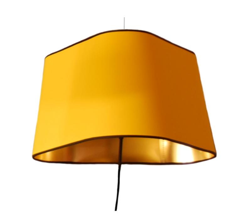 suspension nomade grand nuage jaune or 43cm designheure luminaires nedgis. Black Bedroom Furniture Sets. Home Design Ideas