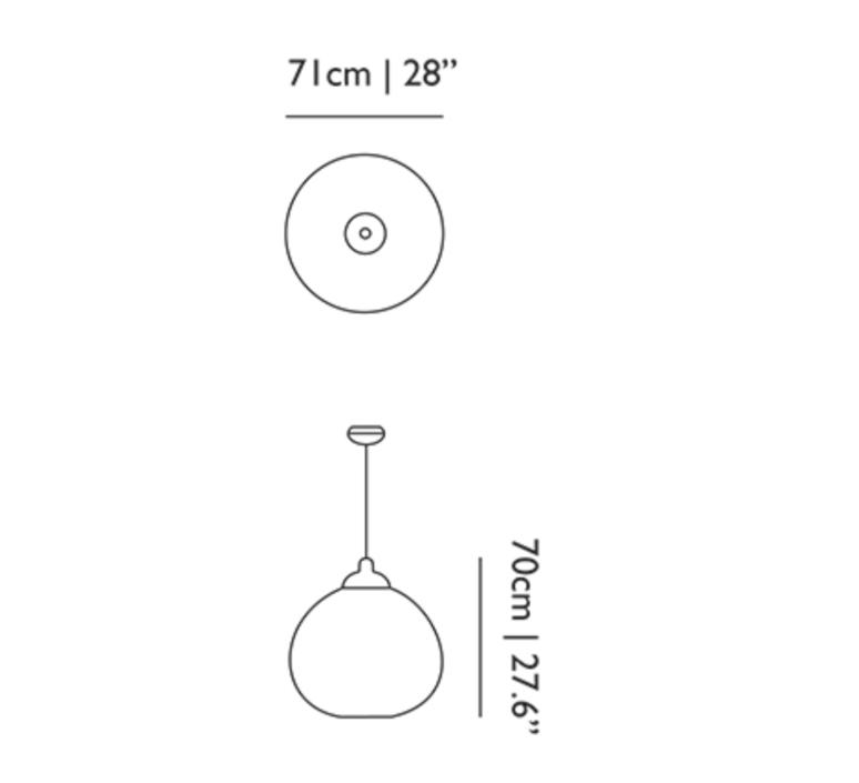 Non random m bertjan pot suspension pendant light  moooi molnra71   design signed 38549 product