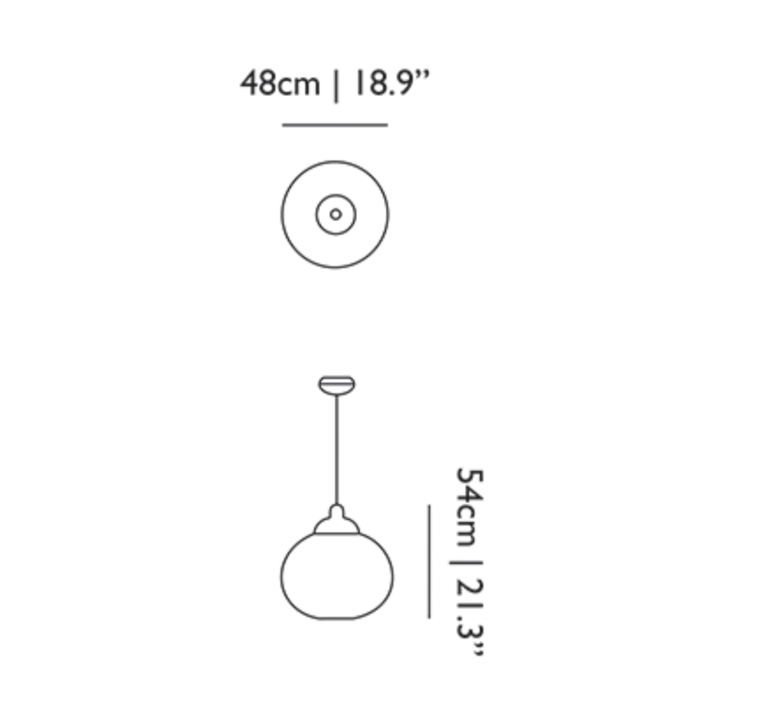 Non random s bertjan pot suspension pendant light  moooi molnra48 b   design signed 38545 product