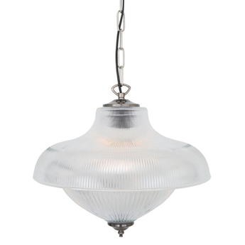 Suspension novo laiton argente l40cm h35cm mullan lighting normal