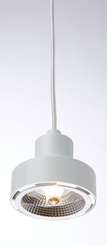 Suspension nox blanc led o11 5cm h12cm zava normal