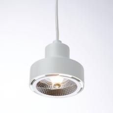Nox franco zavarise suspension pendant light  zava nox pendantlamp white ral9010  design signed 36510 thumb