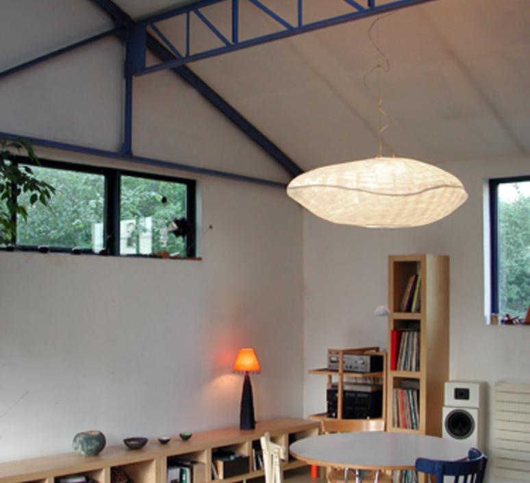 suspension nuage suspension blanc l118cm celine wright luminaires nedgis. Black Bedroom Furniture Sets. Home Design Ideas