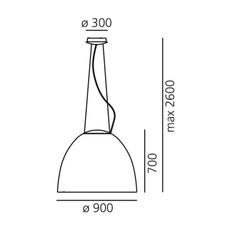Nur 1618 ernesto gismondi suspension pendant light  artemide a242900  design signed 61338 thumb
