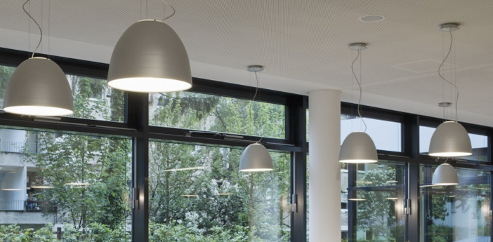 Suspension nur mini aluminium o36 6cm h28 5cm artemide normal