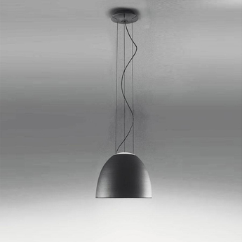 Suspension nur mini anthracite led 27000k 1501lm dimmable o36 6cm h28 5cm artemide normal