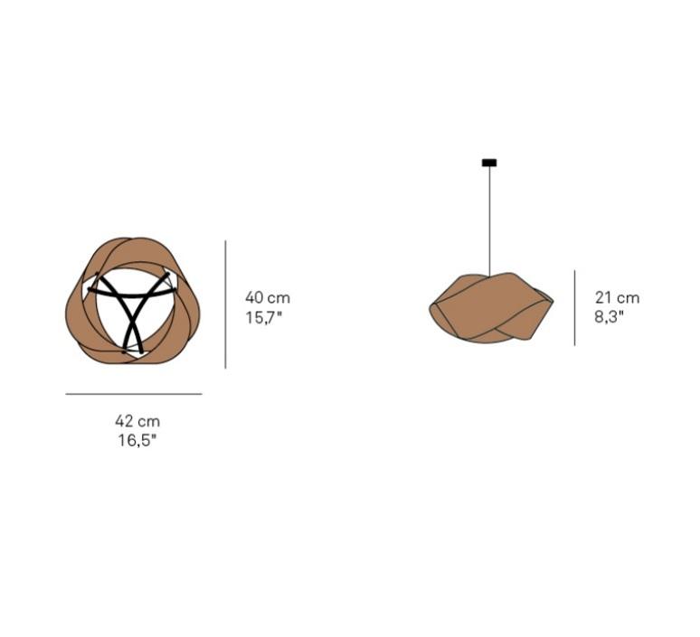 Nut ray power suspension pendant light  lzf nut s wh 28  design signed nedgis 117325 product