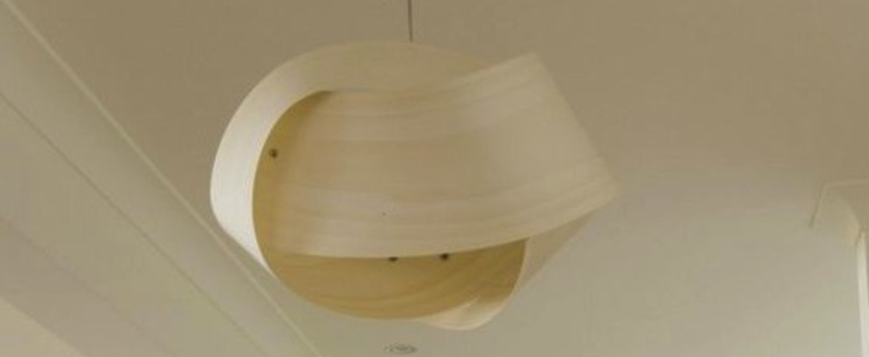 Suspension nut s blanc ivoire o42cm h21cm lzf normal