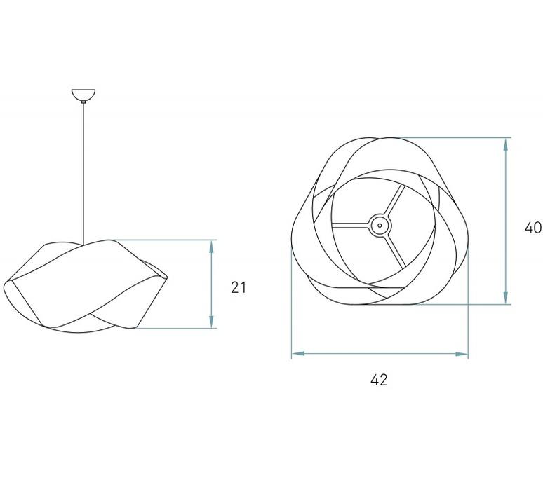 Nut s ray power suspension pendant light  lzf nut s 20 ivory white  design signed 30339 product