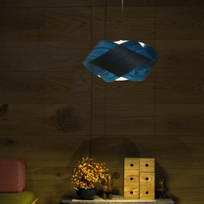 Nut s ray power suspension pendant light  lzf nut s 28 blue  design signed 30331 thumb