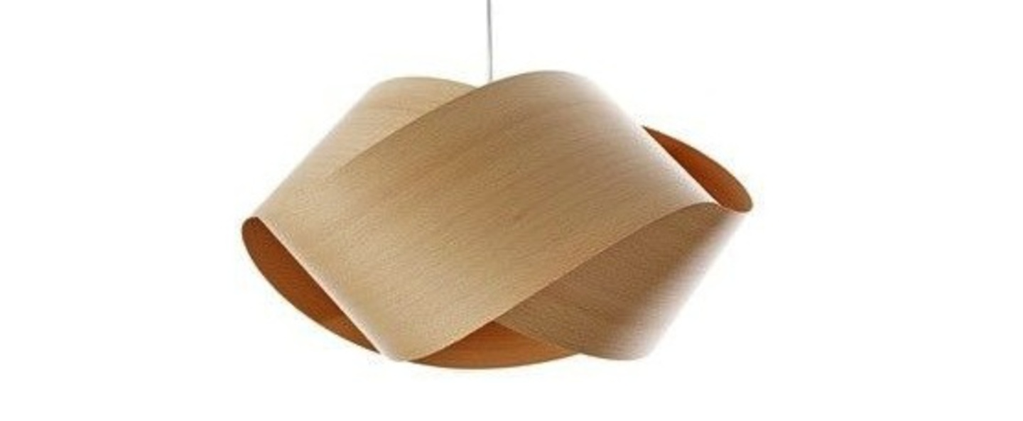 Suspension nut s hetre naturel o42cm h21cm lzf normal