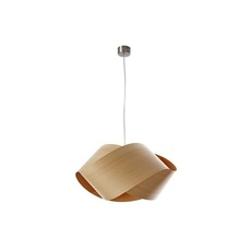 Nut s ray power suspension pendant light  lzf nut s 22 natural beech  design signed 30305 thumb