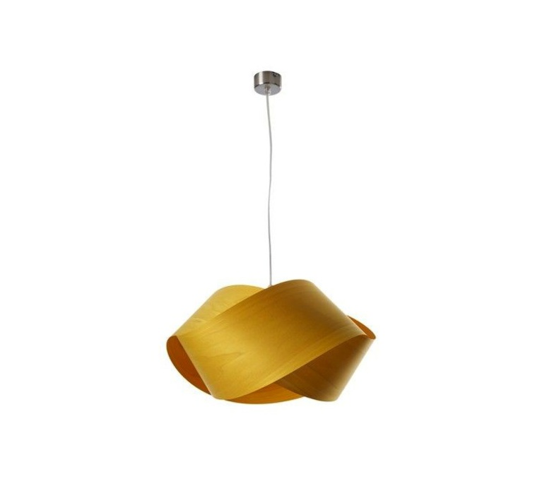 Nut s ray power suspension pendant light  lzf nut s 24 yellow  design signed 30309 product