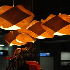 Nut s ray power suspension pendant light  lzf nut s 25 orange  design signed 30314 thumb