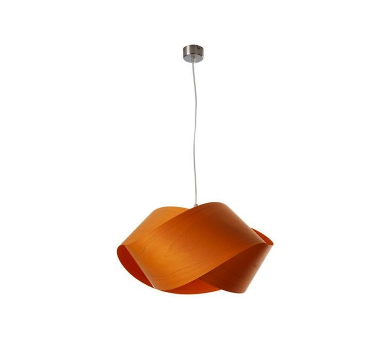 Nut s ray power suspension pendant light  lzf nut s 25 orange  design signed 30315 product