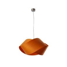 Nut s ray power suspension pendant light  lzf nut s 25 orange  design signed 30315 thumb