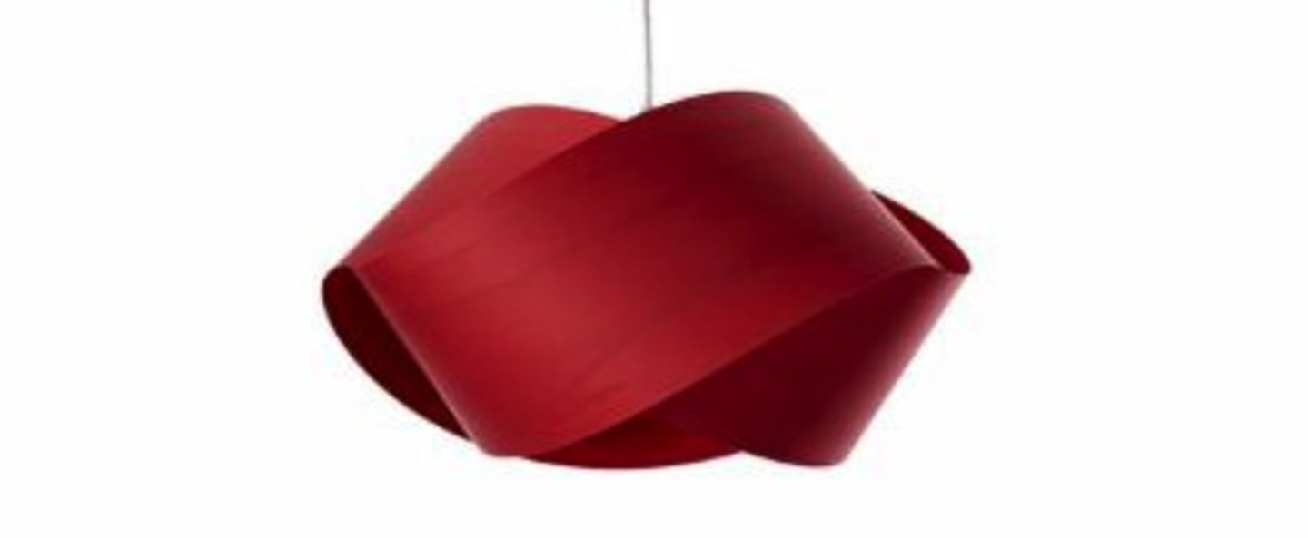 Suspension nut s rouge o42cm h21cm lzf normal