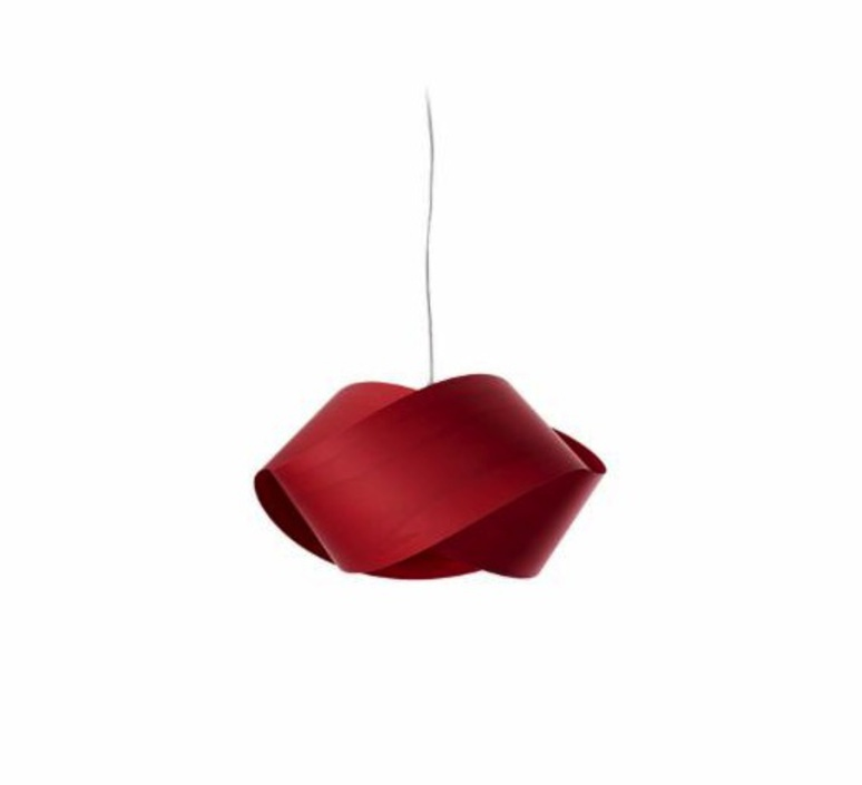 Nut s ray power suspension pendant light  lzf nut s 26 red  design signed 30284 product