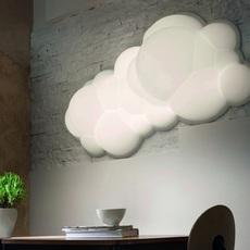 Nuvola wall ceiling 37 mario bellini suspension pendant light  nemo lighting nuv lww 32 white  design signed nedgis 68898 thumb