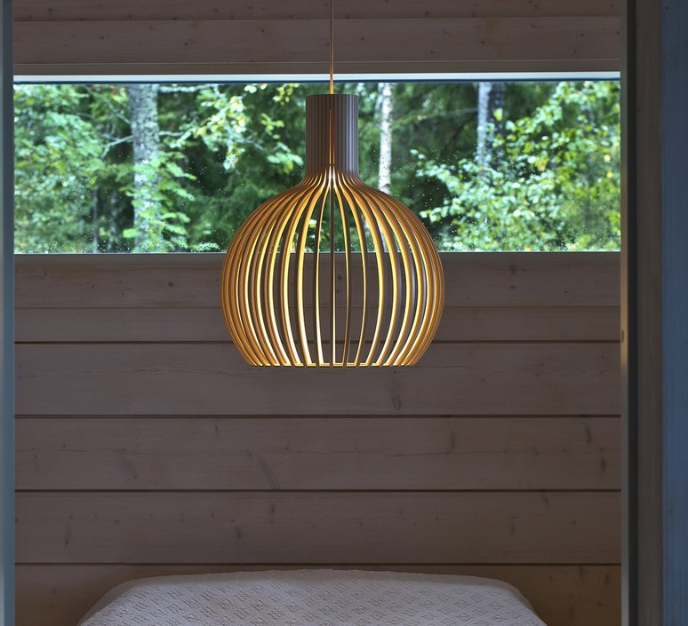 Octo small seppo koho suspension pendant light  secto design octo small 4241 pendant  design signed nedgis 66420 product