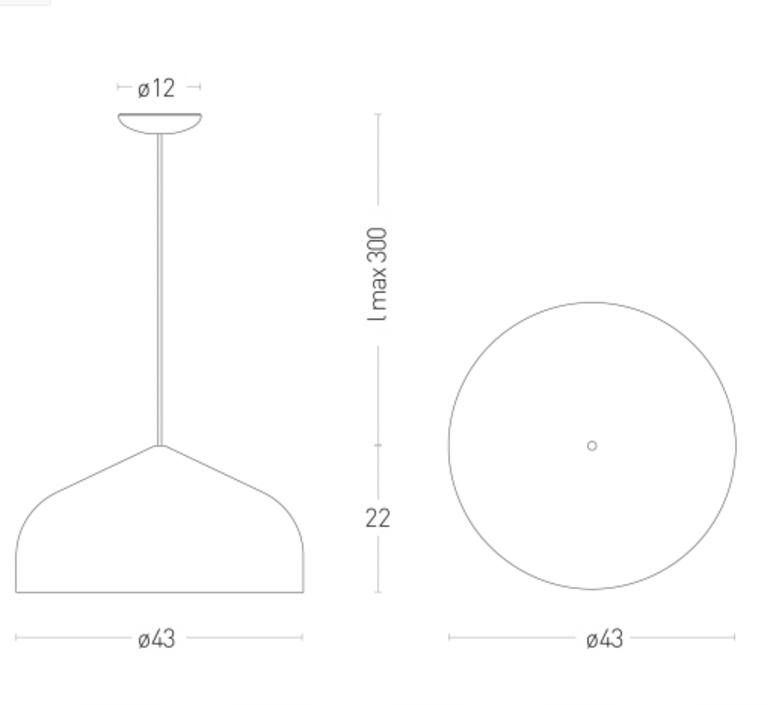 Odile m paolo cappello suspension pendant light  lumen center italia odim105  design signed 52632 product