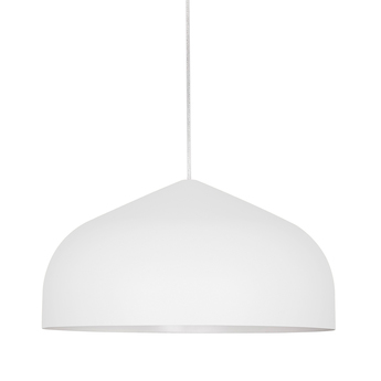 Suspension odile m blanc o43cm h22cm lumen center italia normal