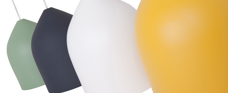 Suspension odile s jaune o20cm h22cm lumen center italia normal