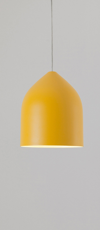 Suspension odile s jaune o20cm h22cm lumen center italia normal