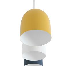 Odile s paolo cappello suspension pendant light  lumen center italia odis127  design signed 52626 thumb