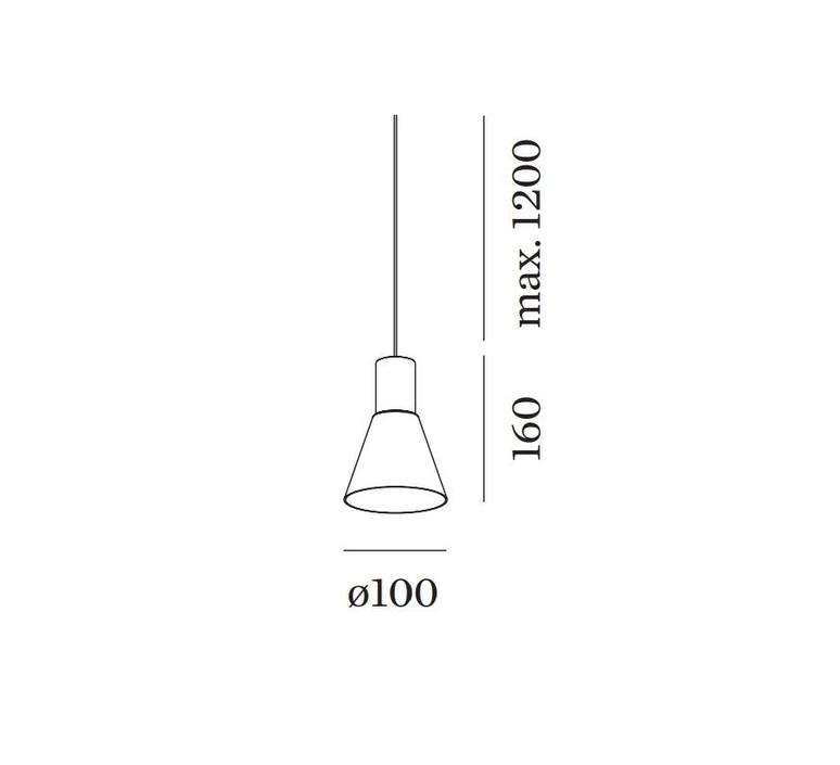 Odrey ceiling suspended 1 0 3 0 rosace en saillie noire studio wever ducre suspension pendant light  wever et ducre odrey icss ssb1g3g  design signed nedgis 95009 product