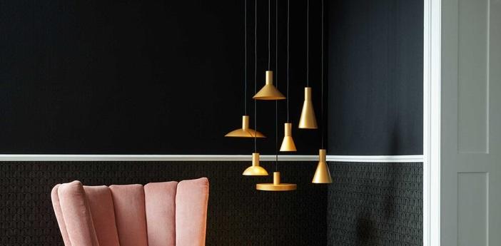 Suspension odrey ceiling suspended 1 0 6 0 rosace en saillie noire noir et or o19cm h15cm wever ducre b02495a8 05cc 4d0e a4ce 973b8f52ae8f normal