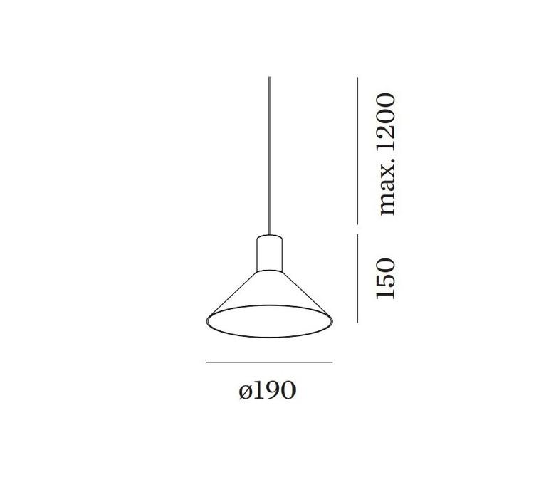 Odrey ceiling suspended 1 0 6 0 rosace en saillie noire studio wever ducre suspension pendant light  wever et ducre odrey icss ssb1g6g  design signed nedgis 95046 product