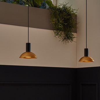 Suspension odrey ceiling suspended 1 0 7 0 1 0 rosace en saillie noire noir o15cm h12 5cm wever ducre normal