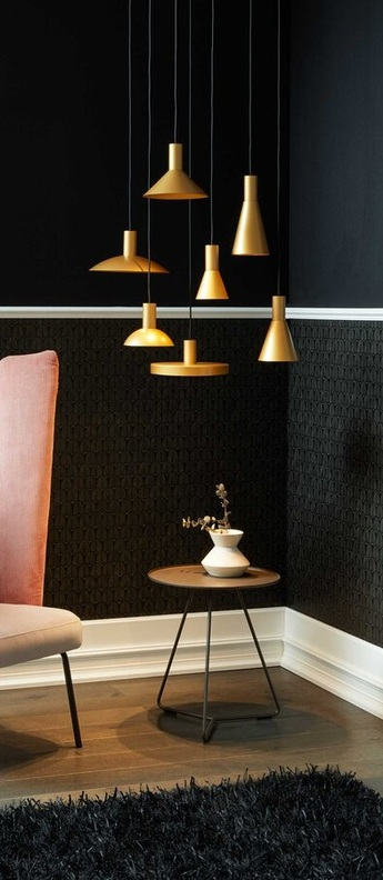 Suspension odrey ceiling suspended 1 0 7 0 rosace en saillie noire noir et or o15cm h12 5cm wever ducre a6a7b34e fed3 4a83 997d 220ac4c07add normal