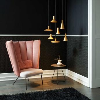 Suspension odrey ceiling suspended 1 0 8 0 rosace en saillie noire noir et or o25cm h12 5cm wever ducre 9798b3a6 2be4 4801 9110 250cca9e1d05 normal