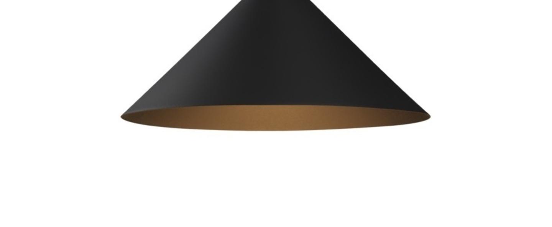 Suspension odrey ceiling suspended rosace en saillie blanche noir o19cm h15cm wever ducre normal