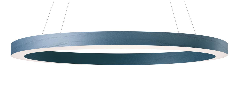 Suspension oh line bleu led 3000k 2743lm o80cm h5cm lzf normal