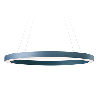 Suspension oh line bleu led 3000k 2743lm o80cm h5cm lzf normal