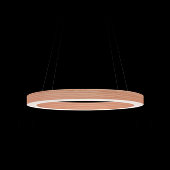 Suspension oh line s rose pale led 3000k 2057lm o60cm h5cm lzf normal