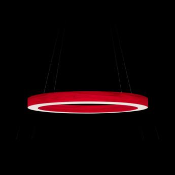 Suspension oh line s rouge led 3000k 2057lm o60cm h5cm lzf normal